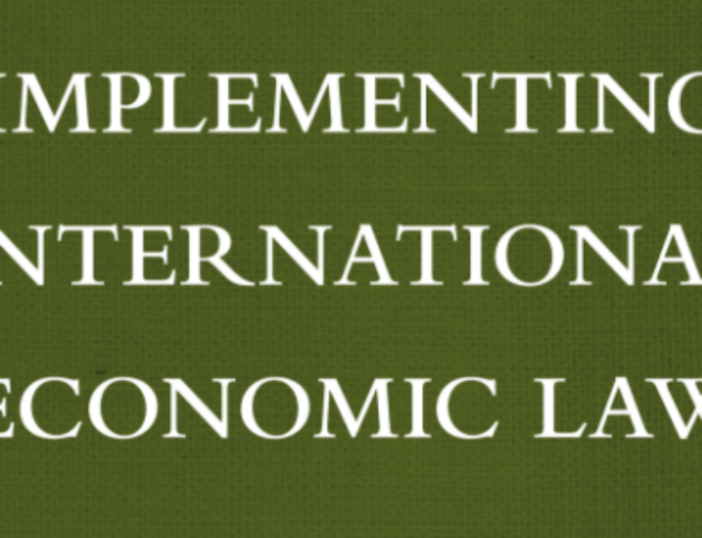 The Development Of International Investment Law Dc